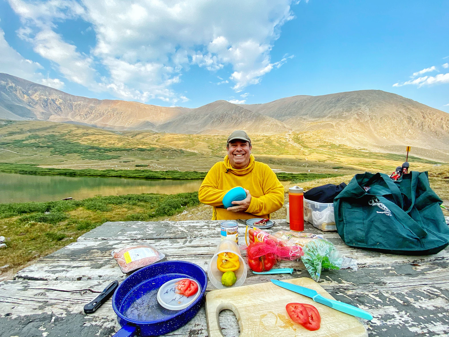 What to eat at high altitudes